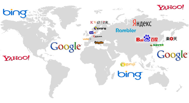 global search engines