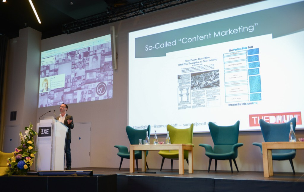 content marketing speaker