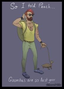 Hipster Bowser
