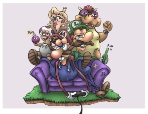 Nintendo Couch