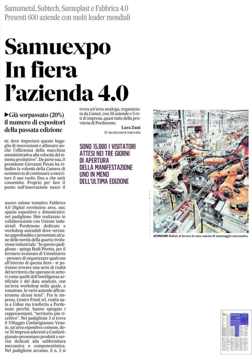 gazzettino Il Gazzettino   30/01/2018