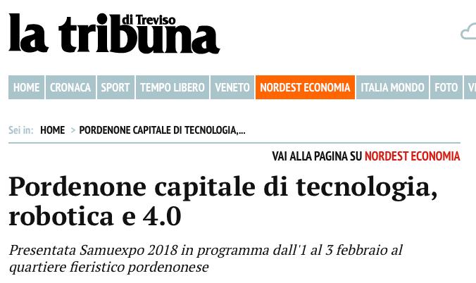 latribunaditreviso La Tribuna di Treviso   29/01/2018
