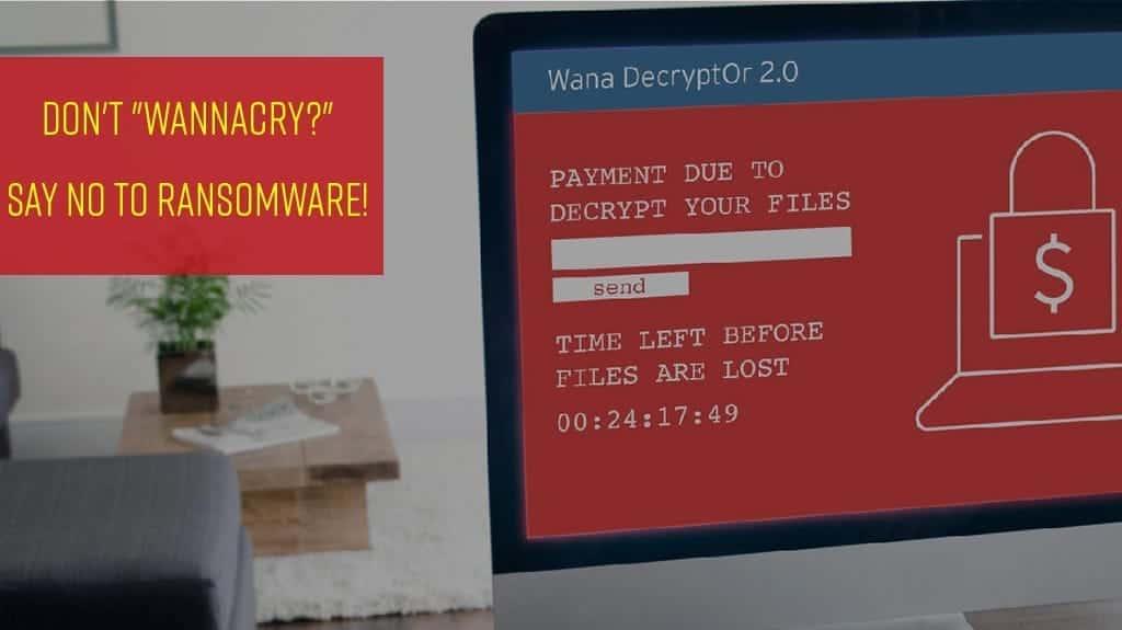 Say NO to Ransomware!