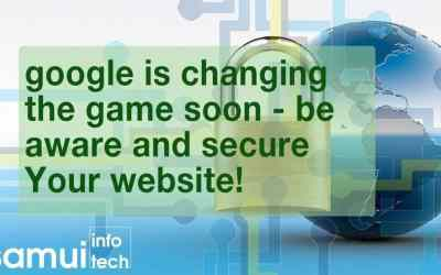 Time for a change – Start Use SSL