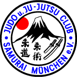Vereinslogo des Judo u. Ju-Jutsu Club Samurai München e.V.