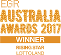 EGR Australia Awards 2017 Winner