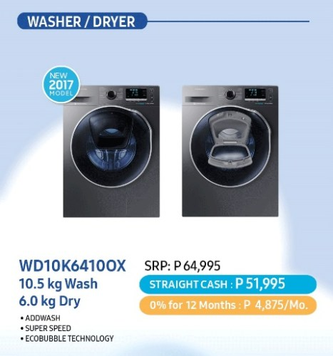 Samsung Dream Home Deals - AddWash