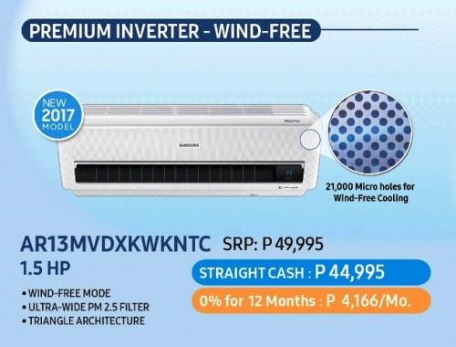 Samsung Dream Home Deals - Wind-Free Air Conditioner
