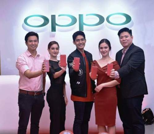 OPPO F3 Limited Edition Red