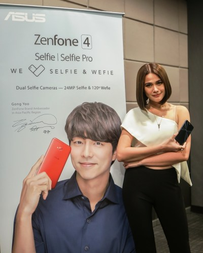Gong Yoo and Bea Alonzo as ambassadors for ASUS Zenfone 4 series