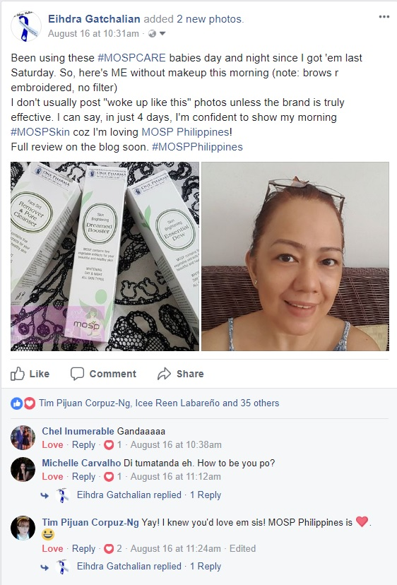 MOSP Philippines Skin Care and Maquillage