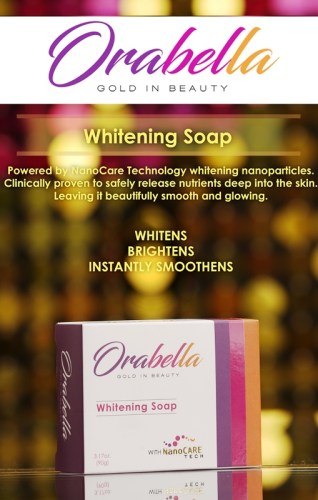 OraBella Gold in Beauty Soap