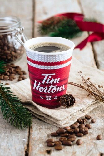 Tim Hortons Merry Berry Hot Chocolate