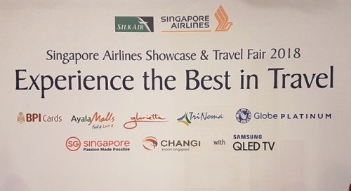 Singapore Airlines Showcase and Travel Fair 2018