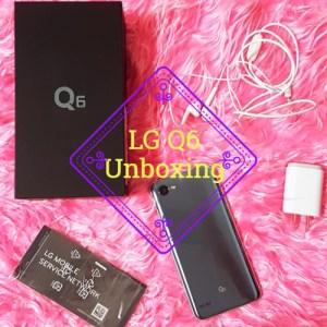 LG Q6 Unboxing
