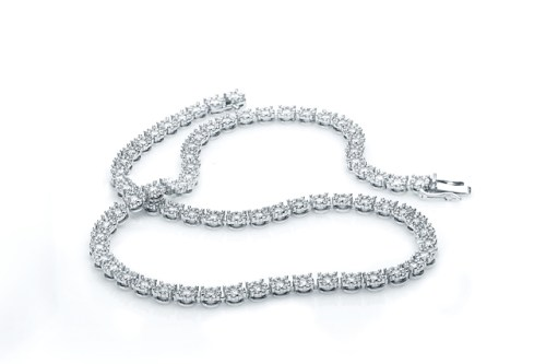 My Diamond Tennis Bracelet