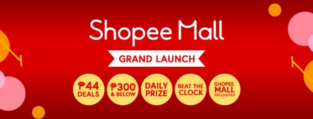 Shopee Mall Grand Launch