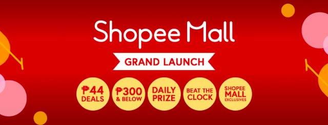 Shopee Mall Grand Launch