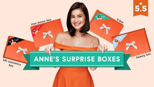 5.5 Shopee Super Sale Anne Curtis Surprise Boxes