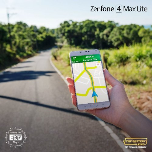 ZenFone 4 Max Lite