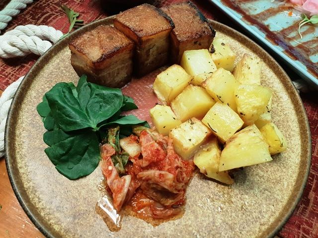 Akrotiri Modern Eurasian Cuisine 24 hour Pork Belly