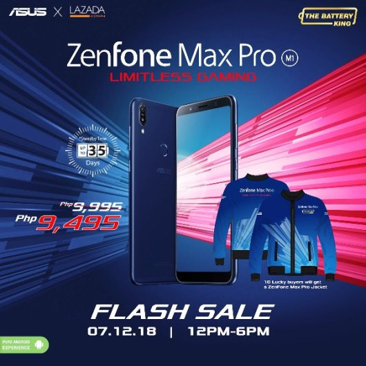 ZenFone Max Pro - Flash Sale at Lazada Philippines
