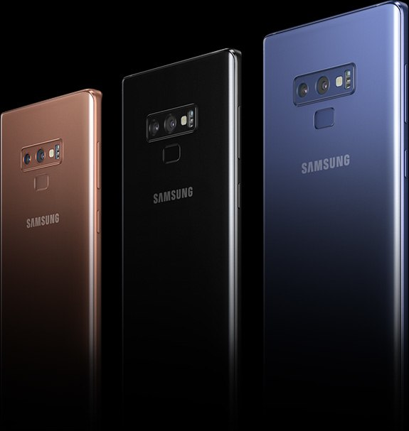 Samsung Galaxy Note9 Colors