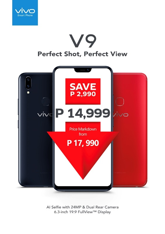 VIVO V9 Price Drop
