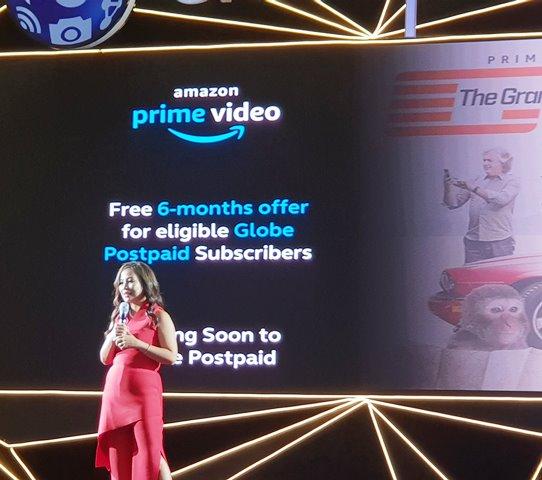 Get Premium 6 Months Amazon Prime with Globe Postpaid