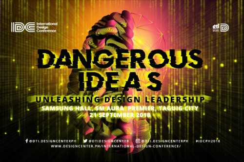 International Design Conference 2018 presents dangerous ideas