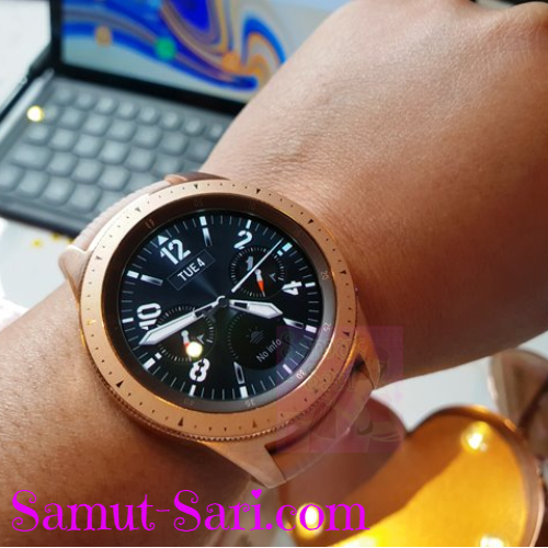 SAMSUNG Galaxy Watch - Designed to Keep You on Track
