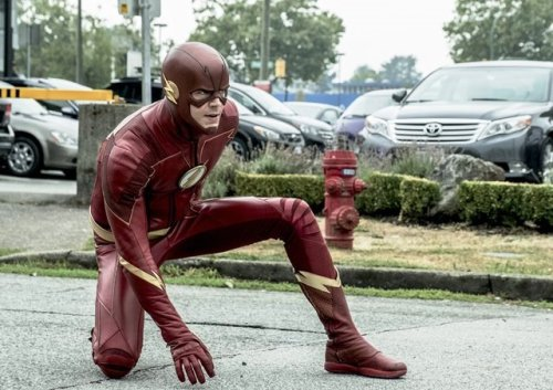 The Flash airs on HOOQ same as the U.S. Release