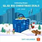 Anker Shopee 12.12 Big Christmas Sale