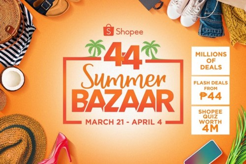 Shopee 4.4 Summer Bazaar