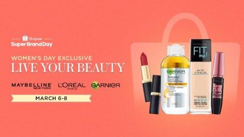Shopee x L'Oreal Super Brand Day