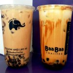 Baa Baa Thai Tea Salted Caramel and Creme Brulee