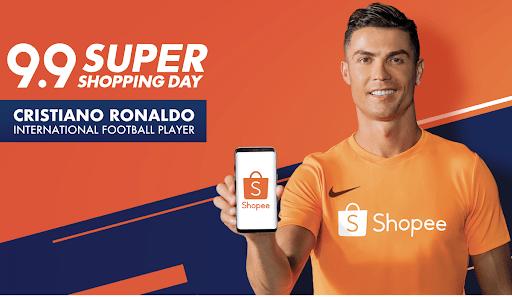 Cristiano Ronaldo Shopee Ambassador