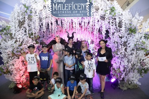Maleficent Welcome to the Moors Exhibit at S'Maison