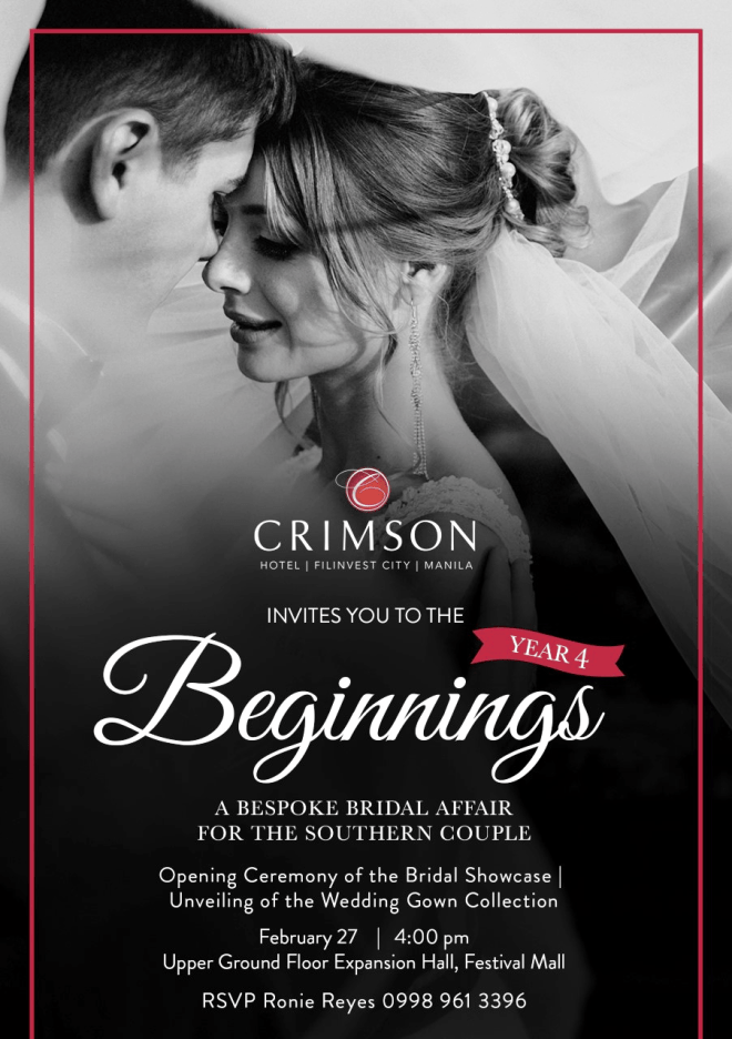Crimson Hotel Beginnings Bridal