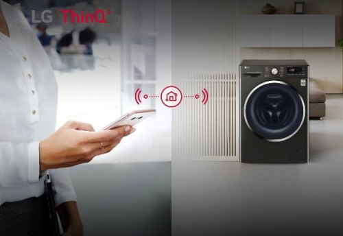 LG ThinQ Washing Machines give you the convenience of fuss-free loads with just a push of a button