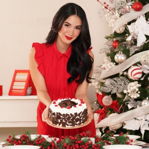Heart Evangelista for Red Ribbon Cake Creations