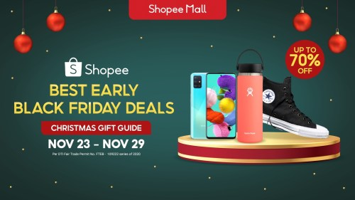 Shopee Black Friday Deals