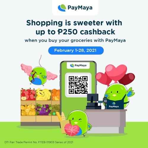 Grocery PayMaya QR