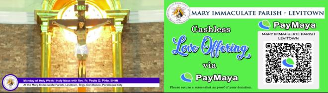 Online Visita Iglesia - PayMaya