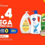 Shopee Essentials 4.4 Mega Shopping Sale