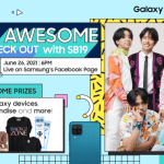 SAMSUNG A'TIN Awesome event
