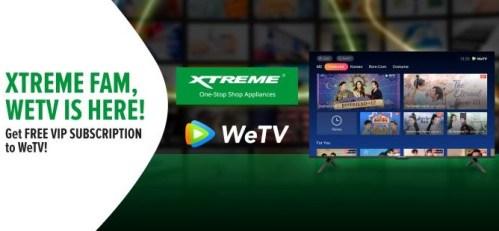 XTREME x WeTV