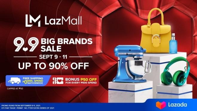 Lazada 9.9 Big Brands Sale