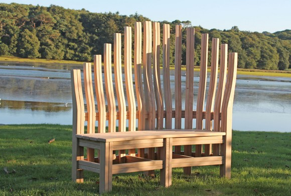 Fine Garden Bench Bespoke Garden Furniture Cornwall Samuel F Beatyapartments Chair Design Images Beatyapartmentscom
