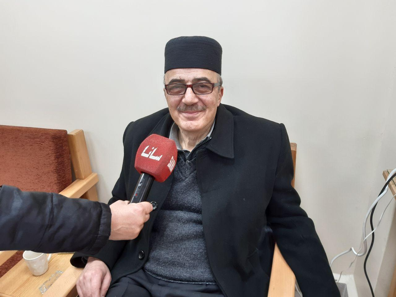 الخطاط عدنان الشيخ عثمان يدعو إلى إحداث أكاديمية سورية عربية لفن الخط  العربي - haramoon.com
